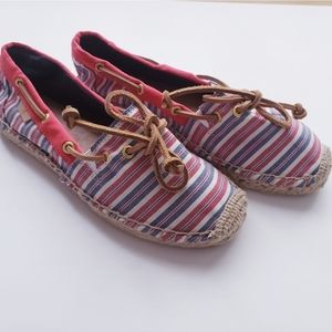 Sperry Topsider Espadrilles Flat Shoes Size 6.5